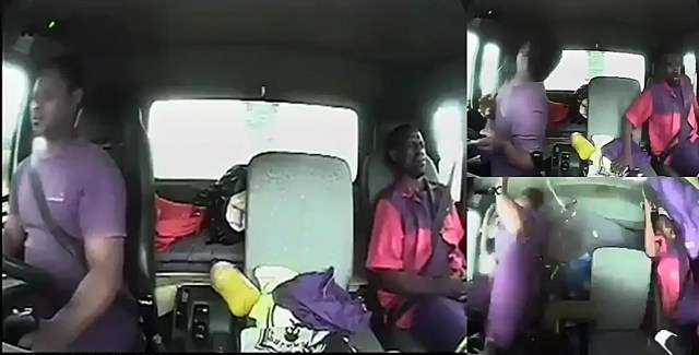 Video: Shock as truck driver gets attacked by Tokoloshe while driving