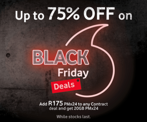 Vodacom Black Friday 2020 deals