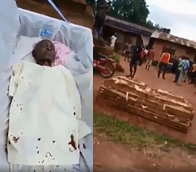 dead man still breathing inside coffin one year after his burial