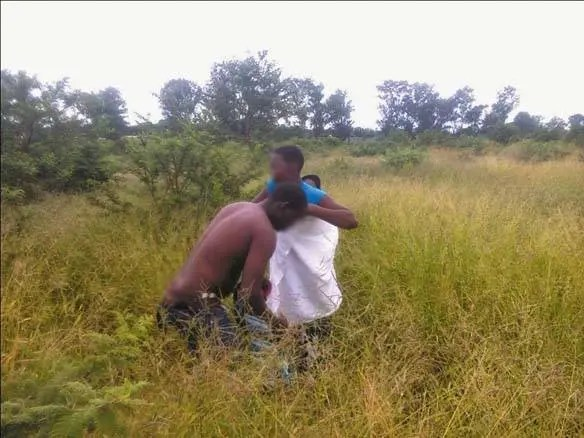 Drama as hunter catches his friend's wife having s.e.x with another man in the bush
