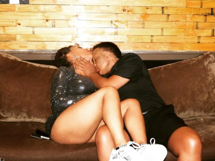 Letoya Makhene & lesbian lover Lebo
