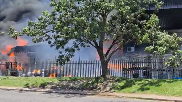Many left injured after explosions at Pinetown chemical factory