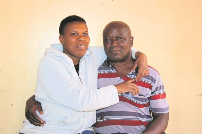 Samuel Mdau and Disebo Makintlane