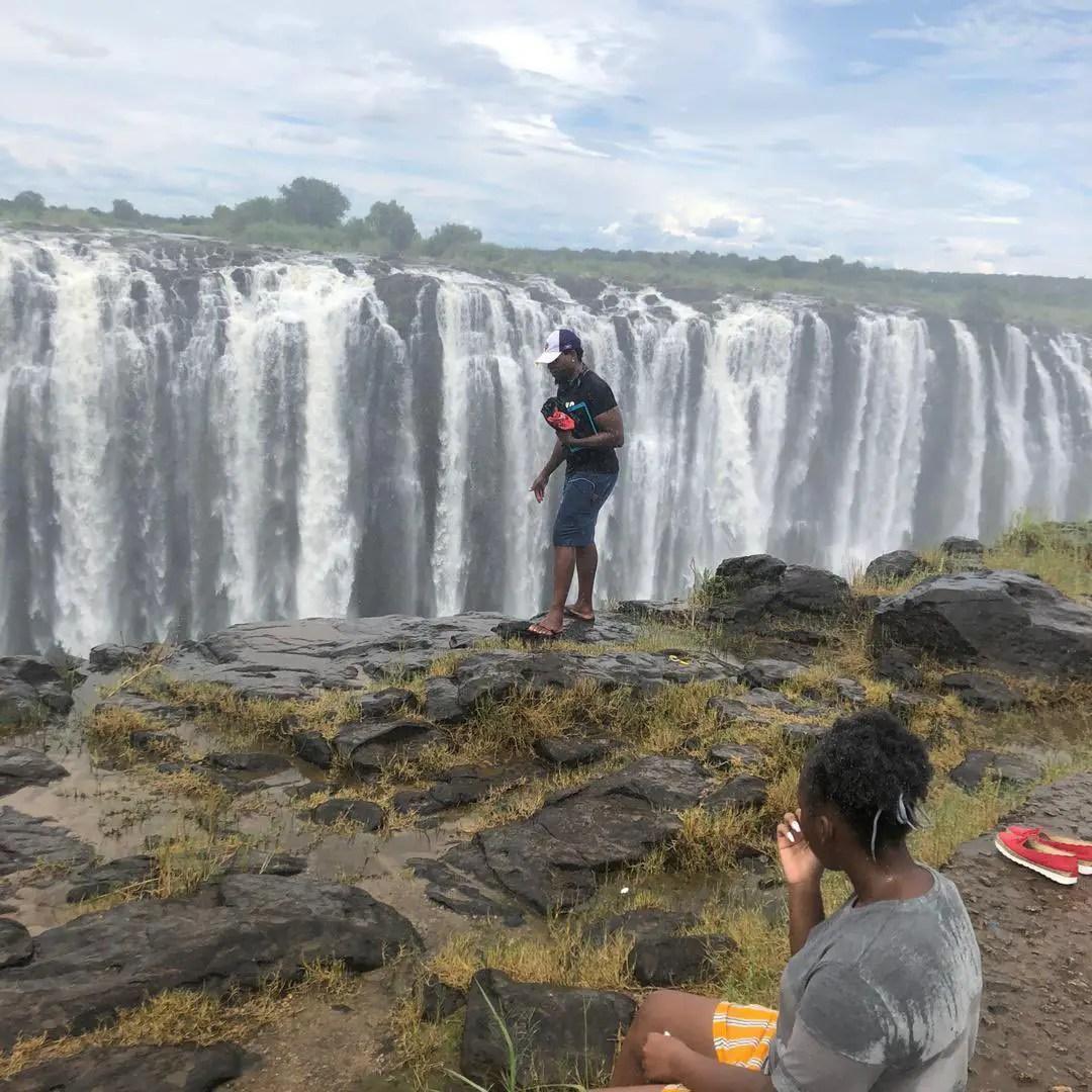 Body of man who fell down Victoria Falls gorge retrieved