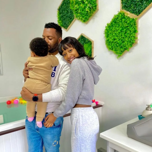 Itumeleng Khune and wife, Sphelele