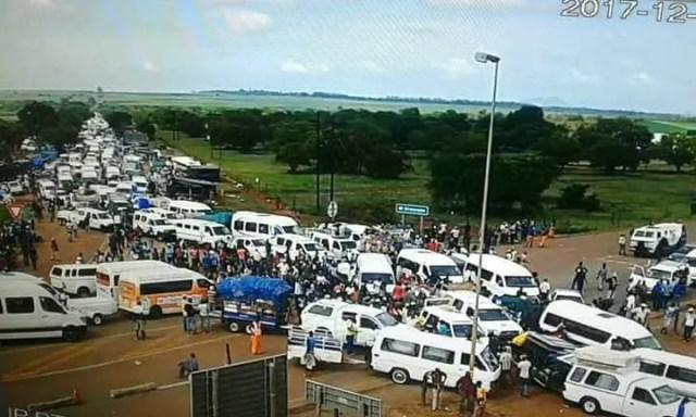 Lebombo border post