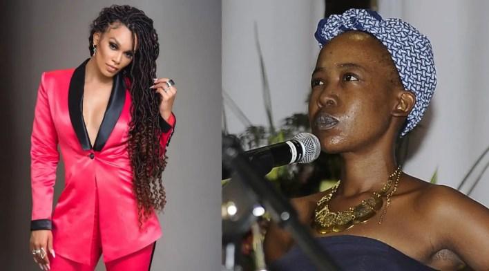 Ntsiki Mazwai vs Pearl Thusi