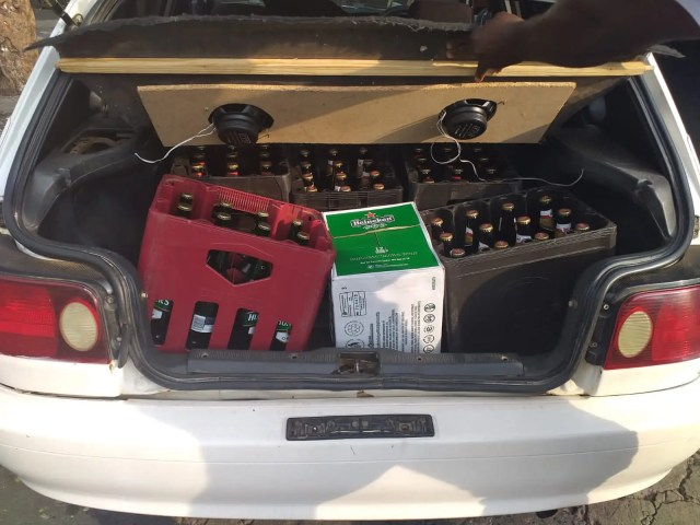 R10 million worth of liquor seized, suspects attempt to bribe police with R40k