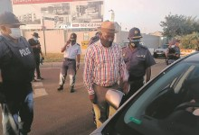 Drama as motorist tries to flee police