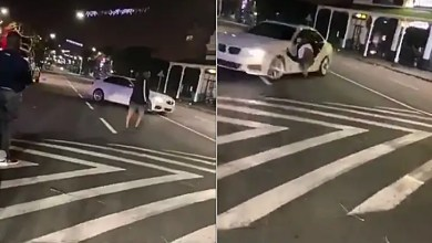 Durban man hits his friend with car while spinning