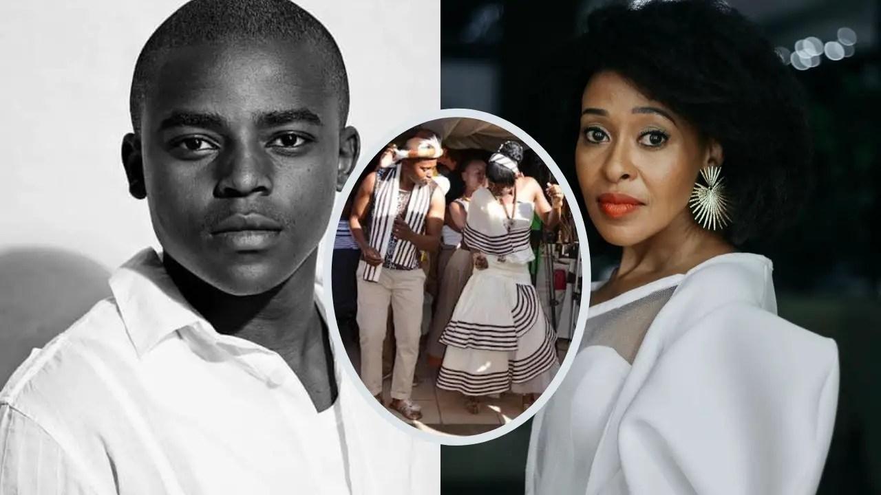 Loyiso Macdonald and Zandile Msutwana