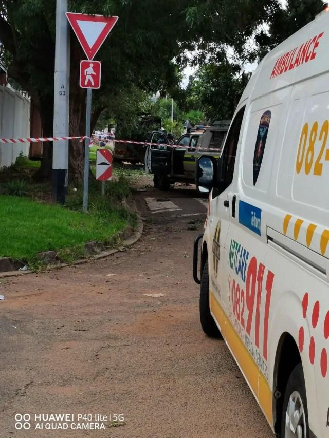 Pretoria Cash-in-transit van bombed