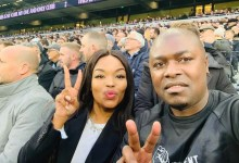 Robert Ngwenya and Zinhle Mabena