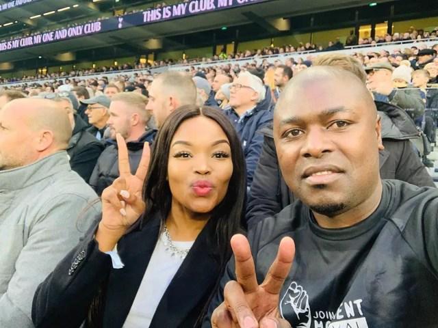 Robert Ngwenya and Zinhle Mabena