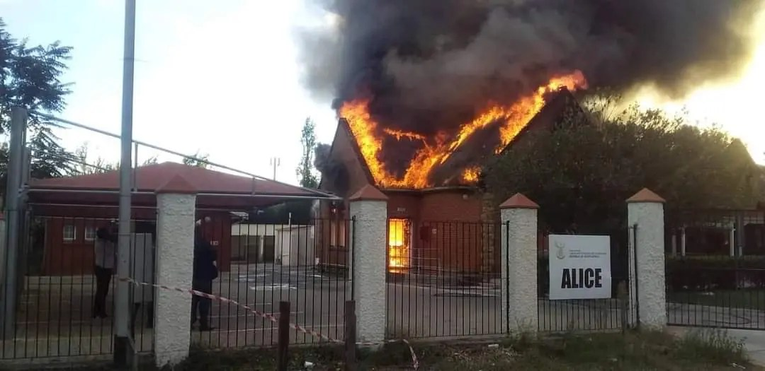 Alice Magistrate's Court gutted by fire
