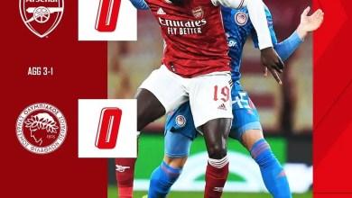 Arsenal Olypiakos
