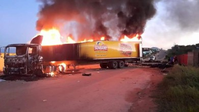 Guests urged to be cautious after truck set alight in Kruger Park