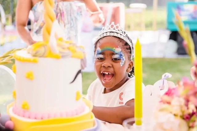 Inside Kelly Khumalo and Senzo Meyiswa daughter Thingo 7th Birthday Party