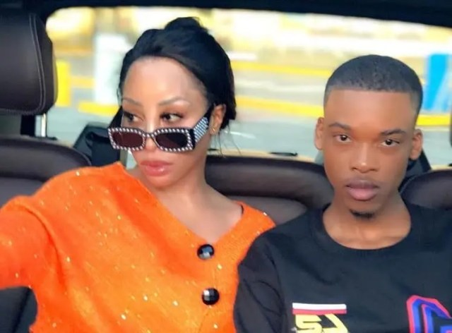 Khanyi Mbau and Dylan