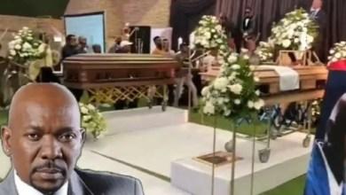 Menzi Ngubane memorial service