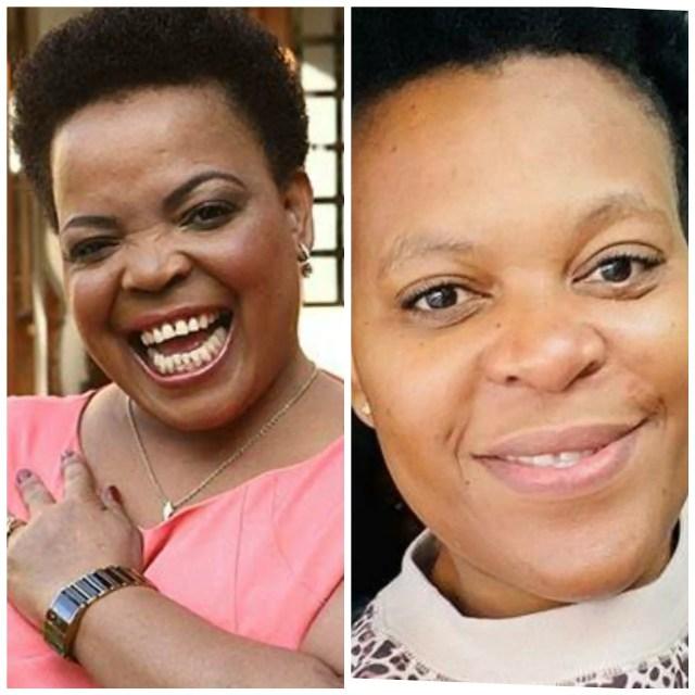 Zodwa Wabantu and Rebecca Malope