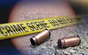 crime scene gun shooting bullet