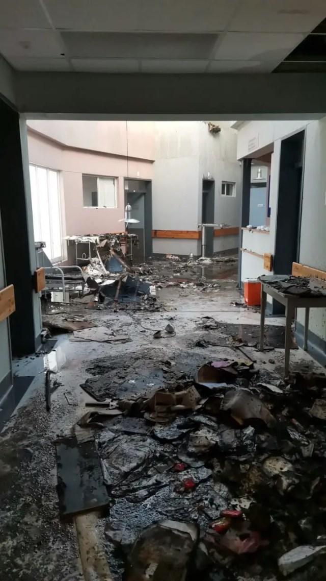 Caledon Hospital fire
