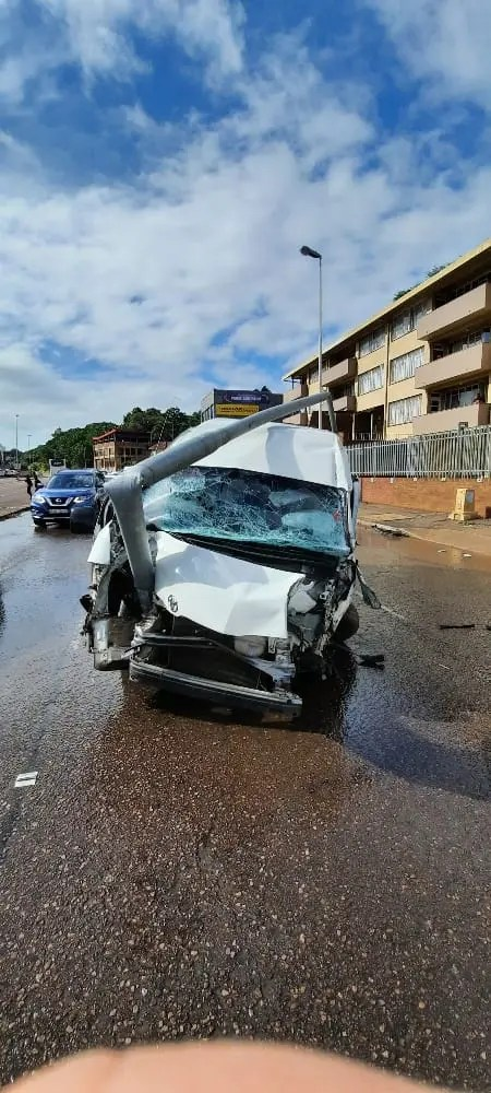 Durban taxi driver leaves trail of destruction