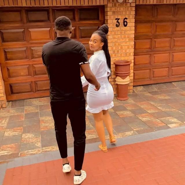 Lucky Mohomi and Nokwazi Zwane