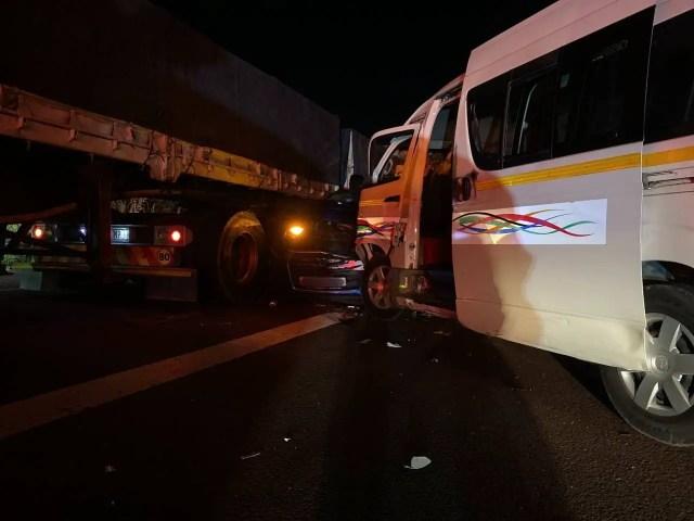 Multiple people injured in N2 pile-up