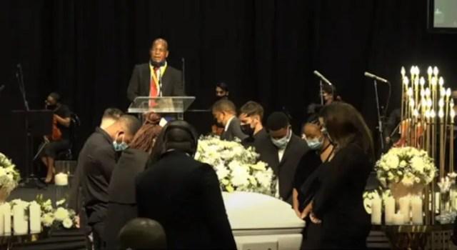 Nelli Tembe funeral