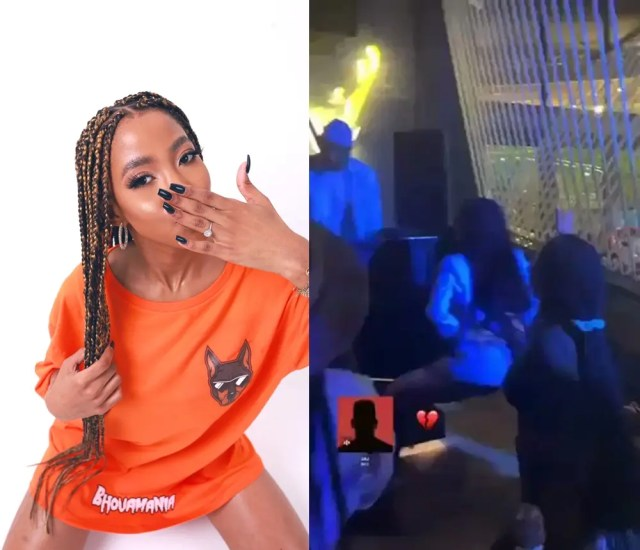 Nelli Tembe twerking in the club before she died