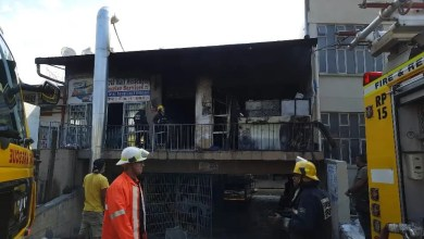 One dead as fire rips through paint shop