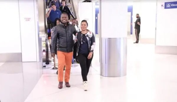 Prophet Bushiri and his wife Mary