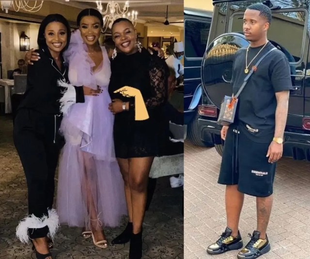 Shauwn Mkhize's 20-year-old son Andile allegedly impregnates DJ Sithelo Shozi for the second time