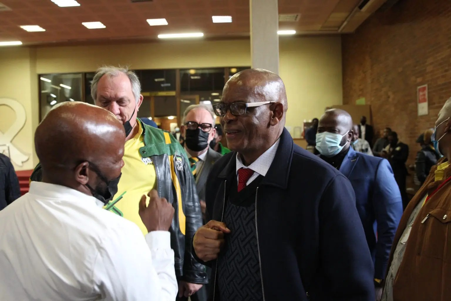 Ace Magashule in court to offer his support to former president Jacob Zuma