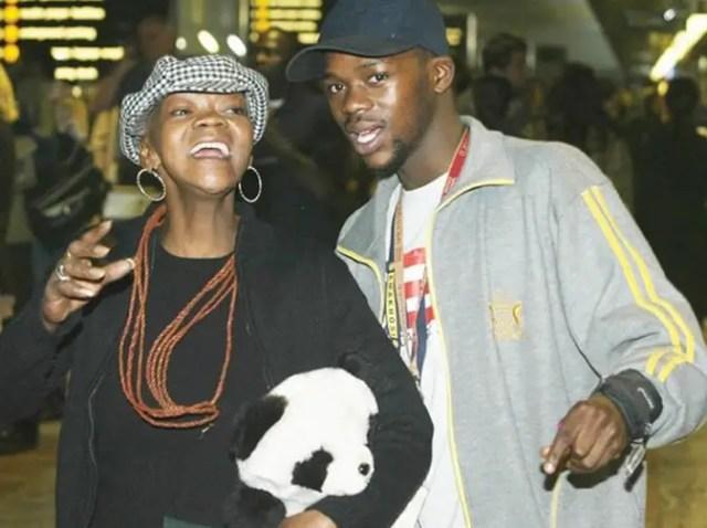 Bongani Fassie and Brenda