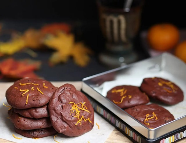 Chocolate orange biscuits