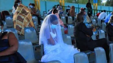Drama as newly married couple forced to stay at stadium for the whole night for breaking lockdown rules