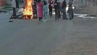 Mangaung protest