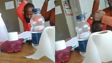Teacher caught on camera slapping a young Grade R boy