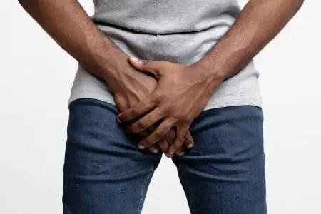 black man holding