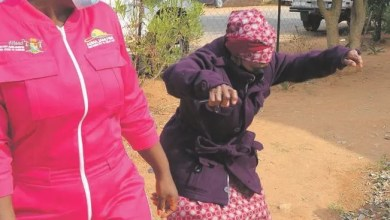 90-year-old Gogo who is a striker for soccer team does a Vosho
