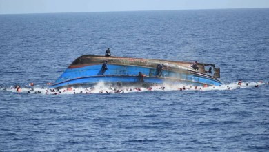 Dozens of migrants feared dead after boat sunk off Yemen's coast