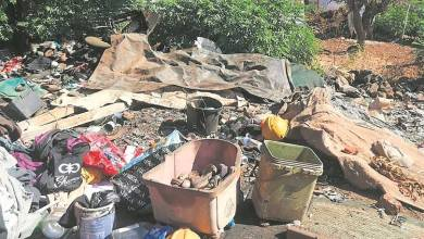 Residents fear for 61-year-old man's life as he eats rotten food from bins