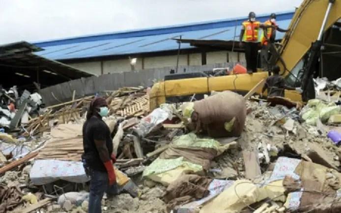 TB Joshua church building collapse