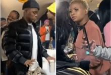 Woman spotted eyeing DJ Zinhle's Boyfriend