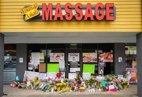 Atlanta-area spa shootings