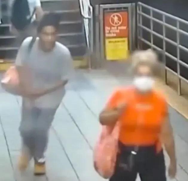 Man punches Gogo and runs away