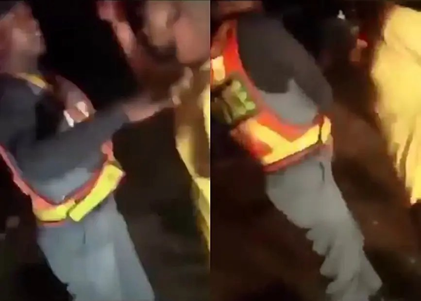 Video of police officer heavily slapping Uncle Vinny floods social media